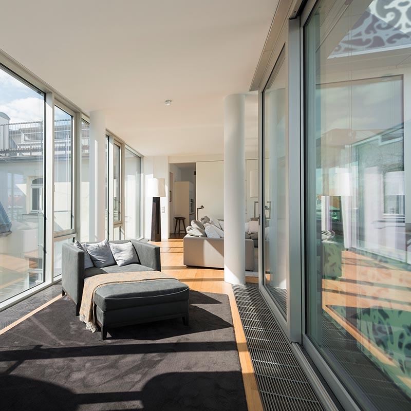 Wohnbereich - Modern. Stylisch. Designer. Innenstadt.